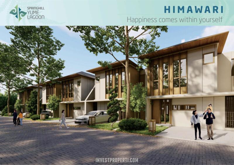 Rumah SpringHill Yume Lagoon Cisauk - Tipe Himawari