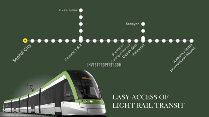 LRT Line Sentul City Bogor