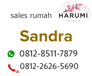 sales rumah Harumi Homes Karawang