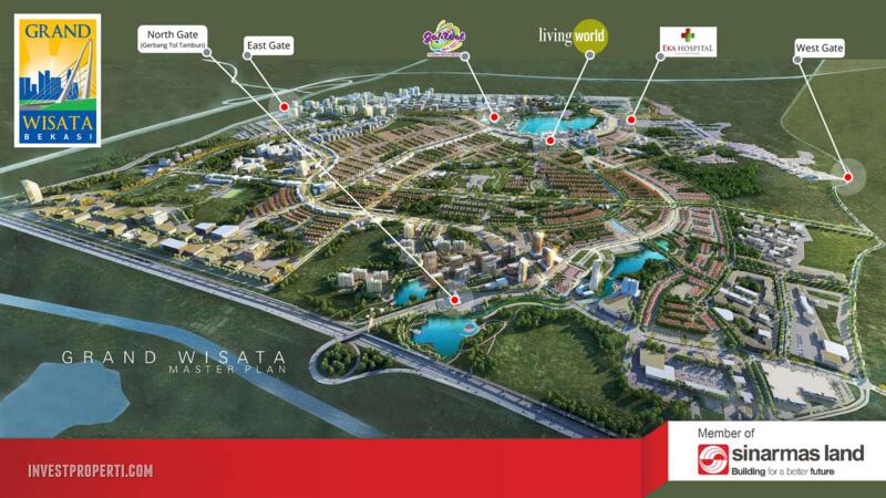 Grand Wisata Bekasi Master Plan 2020