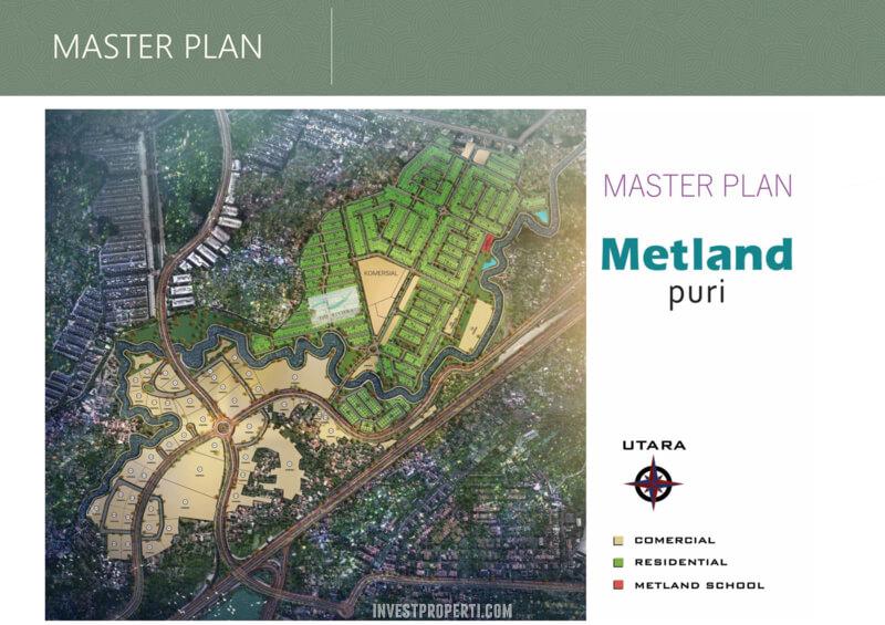 Master Plan Metland Puri