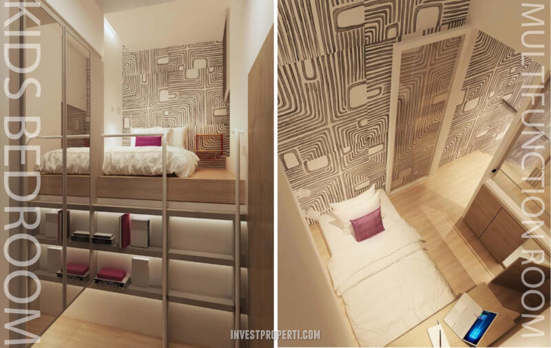 Design Rumah InvensiHaus R - Kids Room