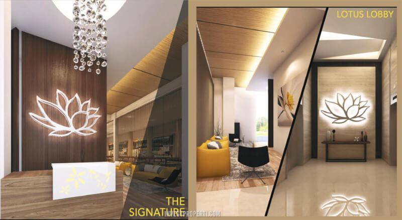 Lobby B-Residence BSD Tower Lotus