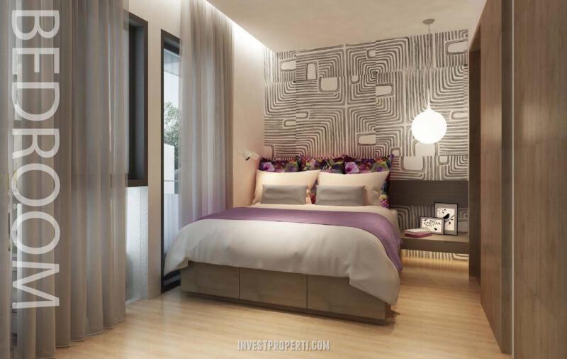 Design Rumah InvensiHaus R - Master Room