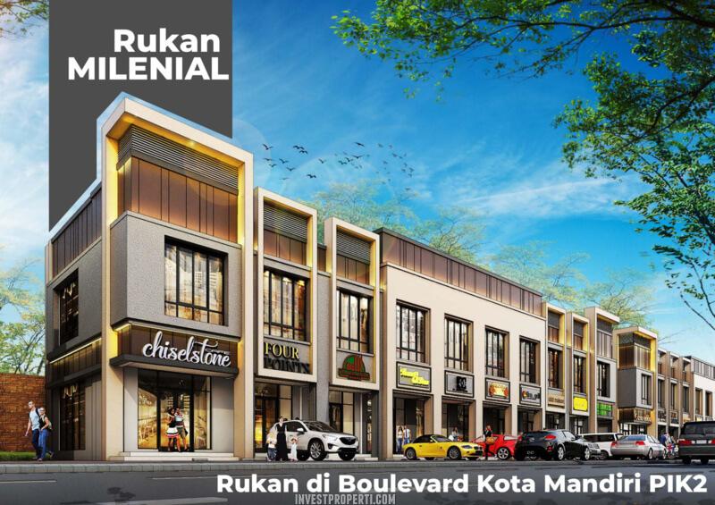 Rukan Milenial PIK2 Jakarta