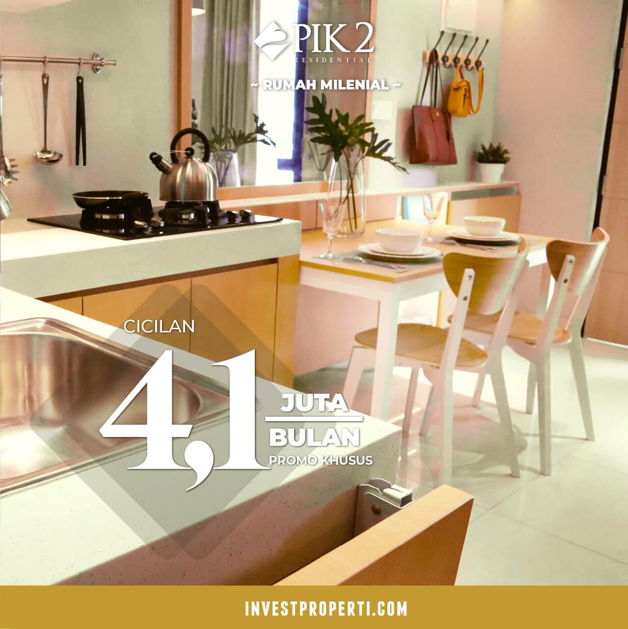 Promo Rumah Pik 2 Jakarta Cluster California