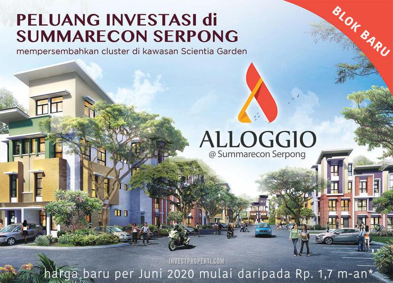 Alloggio Summarecon Serpong Blok Baru 2020