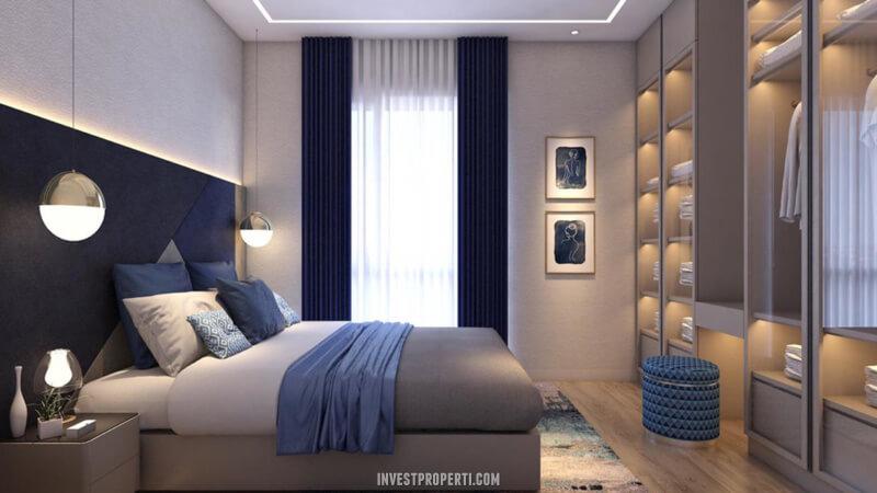 Desain Rumah Cendana Homes Tipe 1 - Master BedRoom