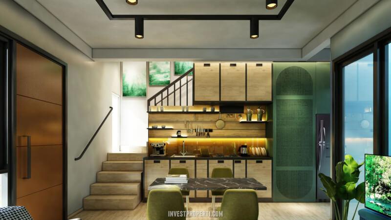 Desain Rumah Cendana Homes Tipe 2 - Kitchen