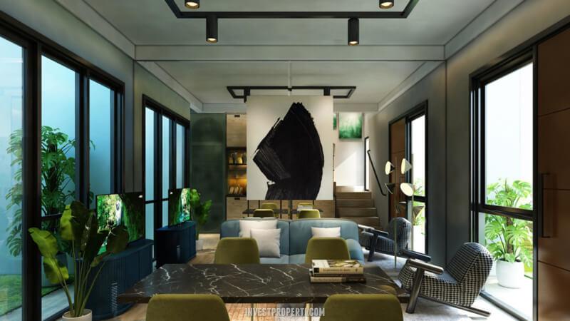 Desain Rumah Cendana Homes Tipe 2 - Living Room