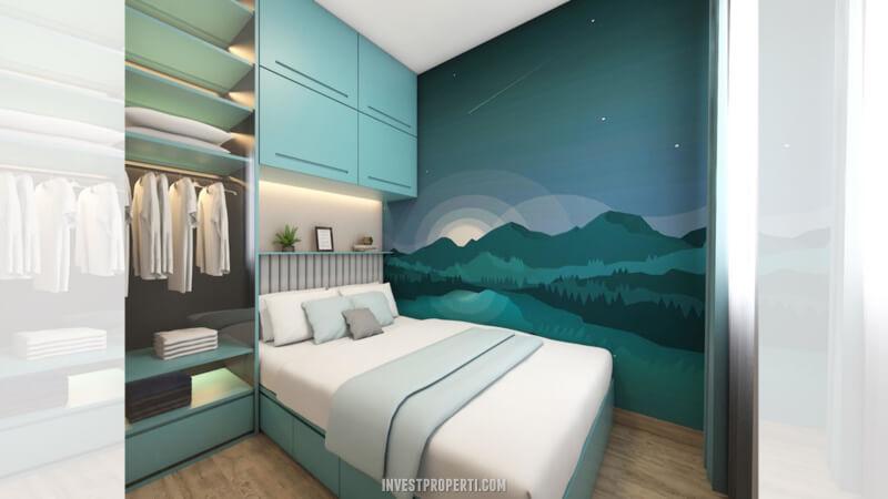 Desain Rumah Cendana Homes Tipe 2 - 3rd Room