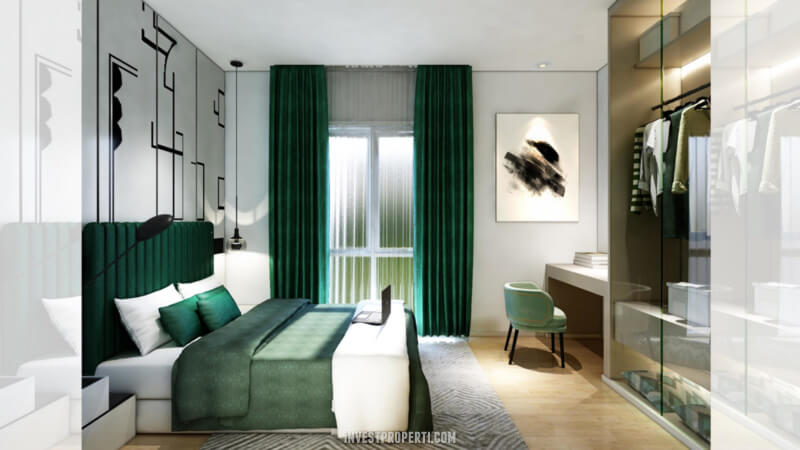 Desain Rumah Cendana Homes Tipe 2 - Master Room