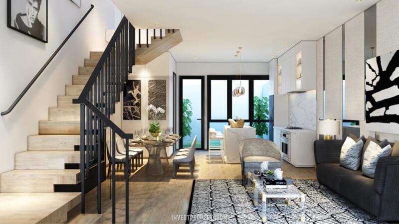 Desain Rumah Cendana Homes Tipe 3 - Living Room