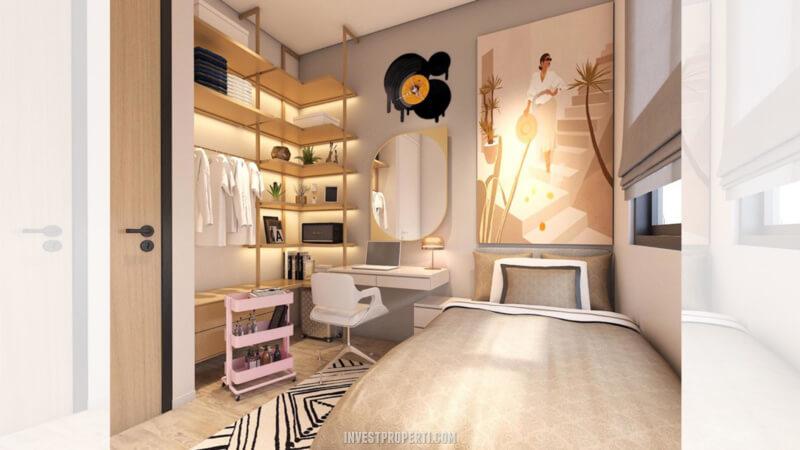 Desain Rumah Cendana Homes Tipe 3 - 2nd Room