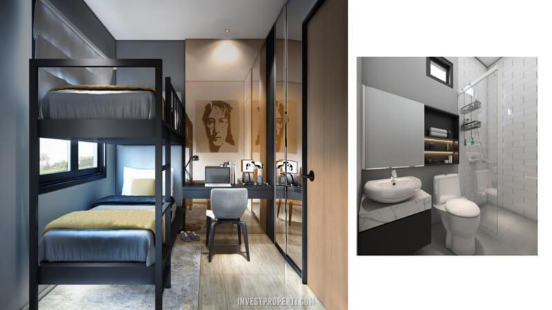 Desain Rumah Cendana Homes Tipe 3 - 3nd Room