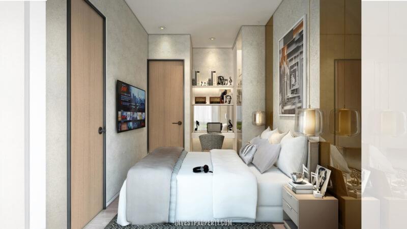 Desain Rumah Cendana Homes Tipe 3 - Master Room