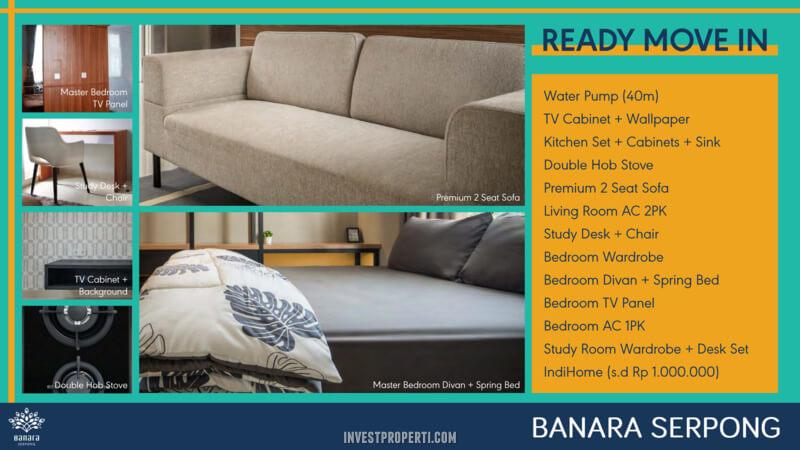 Furniture Rumah Banara Serpong