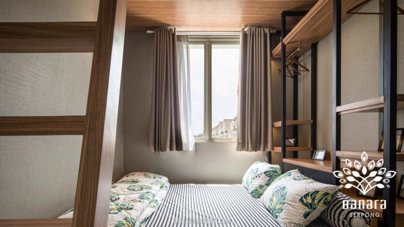 Interior Rumah Banara Serpong - Bedroom