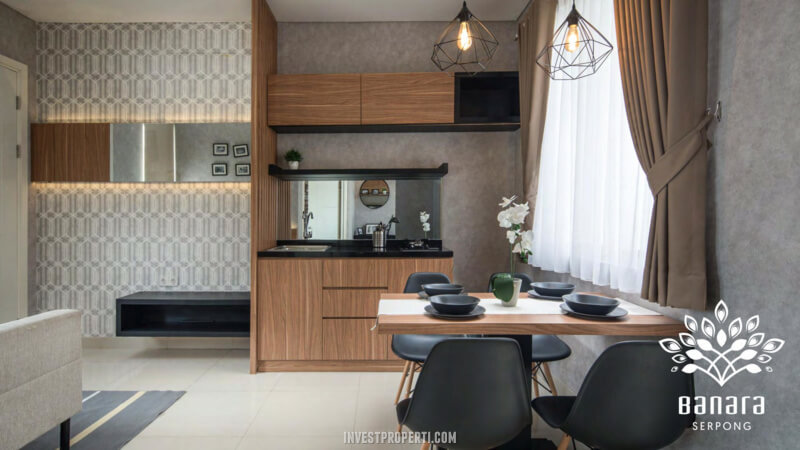 Interior Rumah Banara Serpong - Living Room