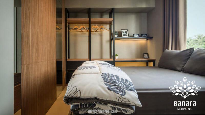 Interior Rumah Banara Serpong - Master Room