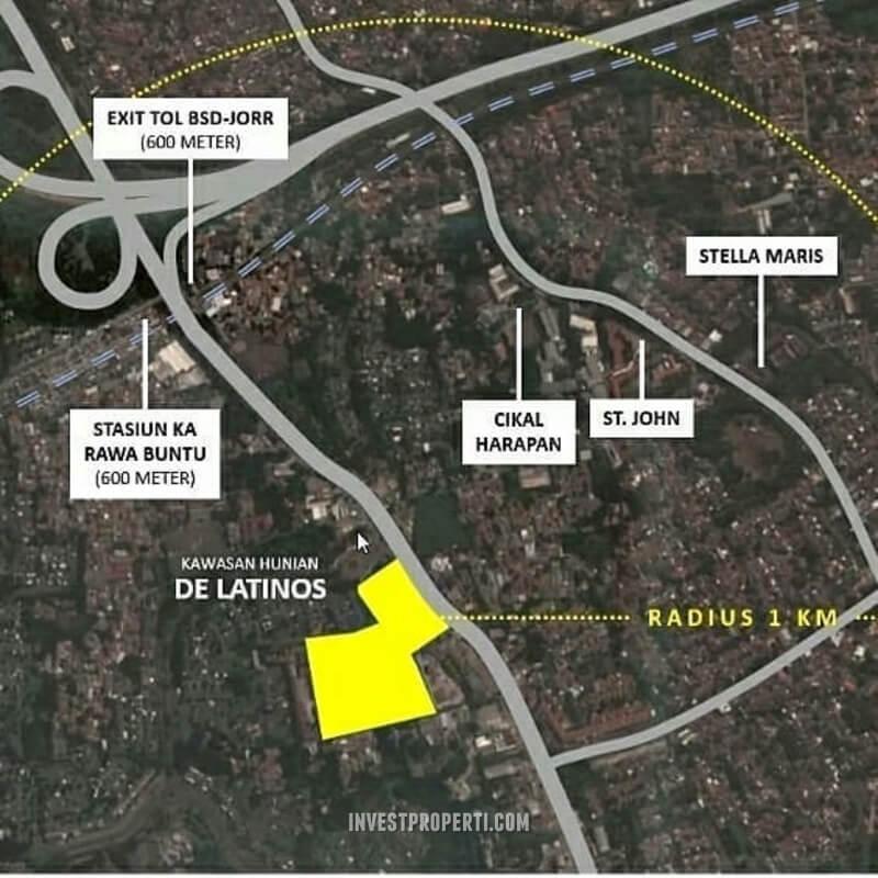 Peta Lokasi BLV BSD