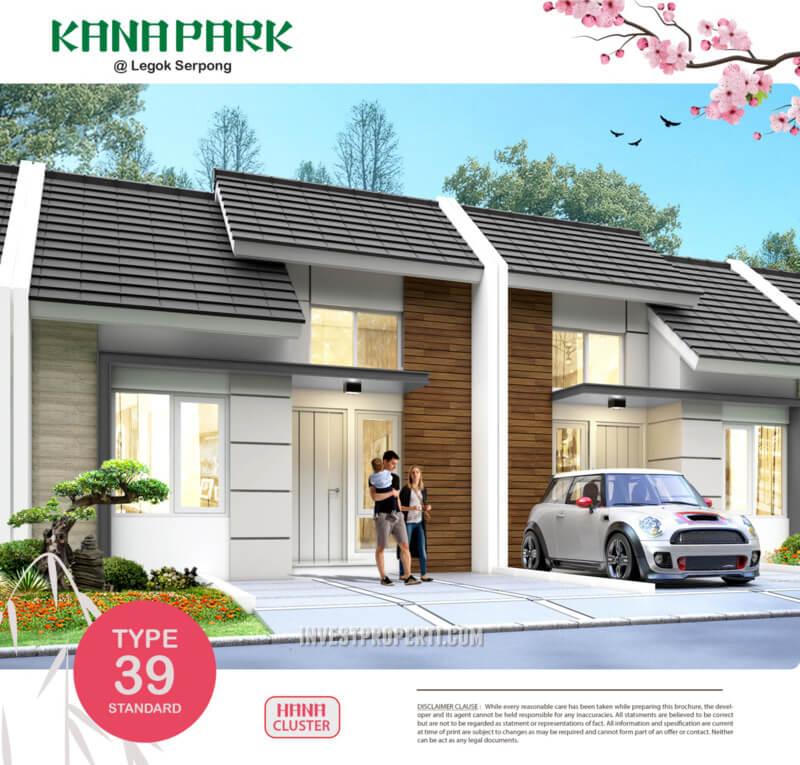 Rumah Kana Park Cluster Hana Tipe 39