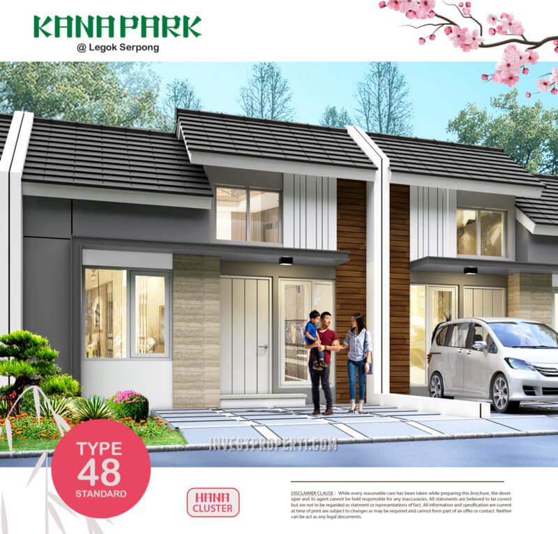 Rumah Kana Park Cluster Hana Tipe 48