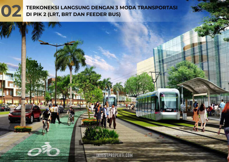Terkoneksi LRT - BRT - Feeder Bus