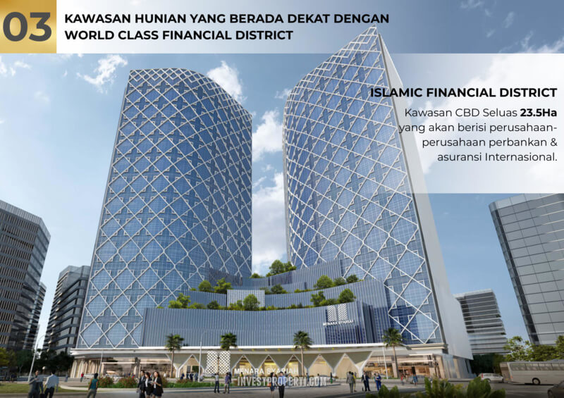 Dekat Islamic Financial Distrik PIK 2