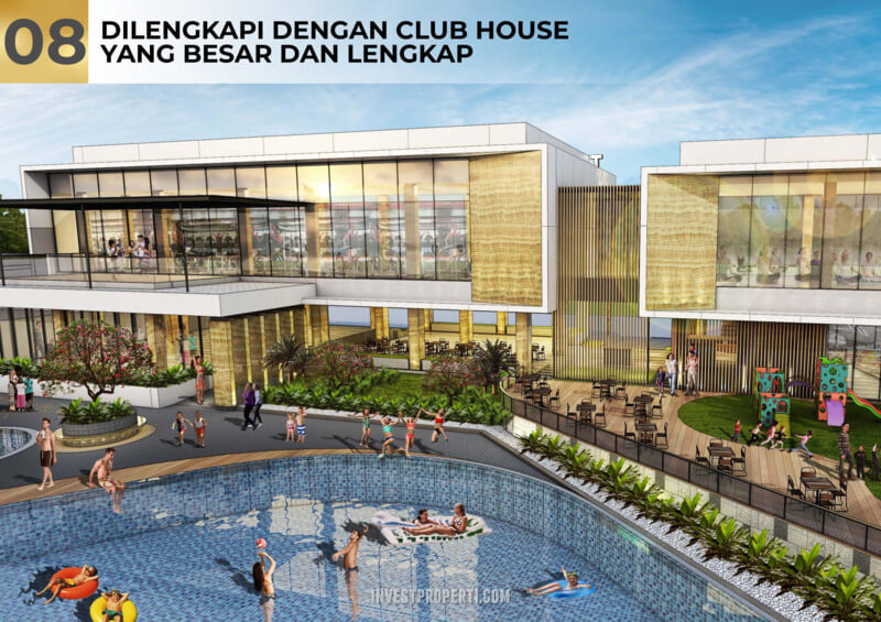 Club House Pantai Bukit Villa PIK2