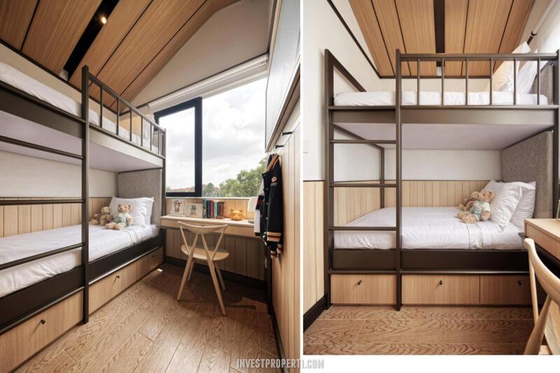 Interior Rumah Rolling Hills Karawang Tipe 1A - Bedroom