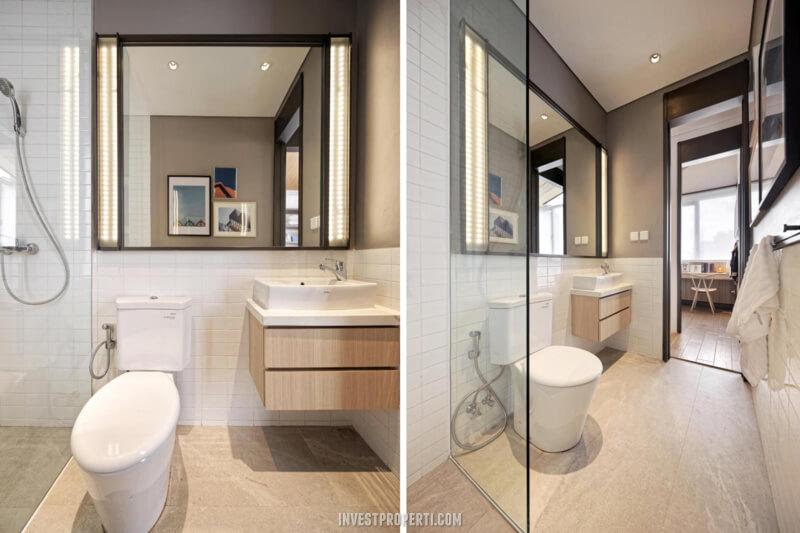 Interior Rumah Rolling Hills Karawang Tipe 1A Toilet