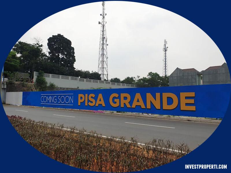 Foto Lokasi Ruko Menara Pisa Grande Paramount Land