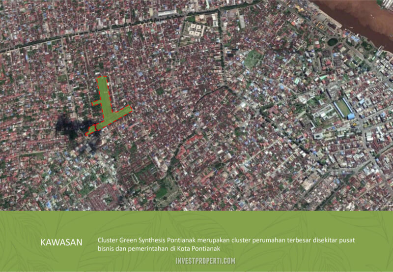 Google Map Green Synthesis Pontianak