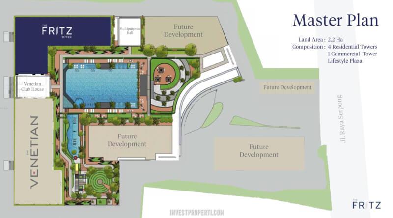 Kingland Avenue Serpong Master Plan