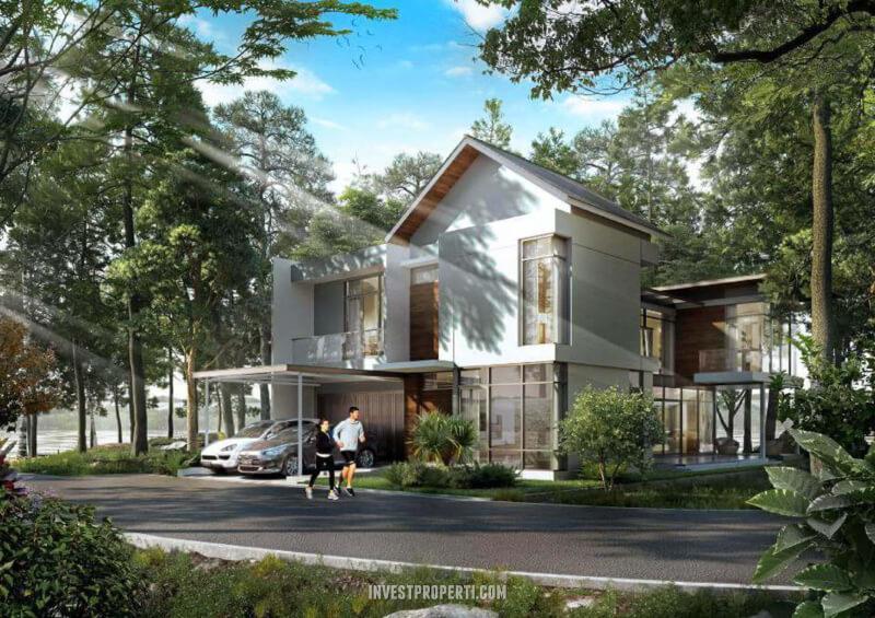 Lingkungan Rumah Pantai Bukit Villa PIk2