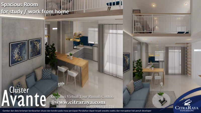 Contoh Interior Rumah Avante CitraRaya