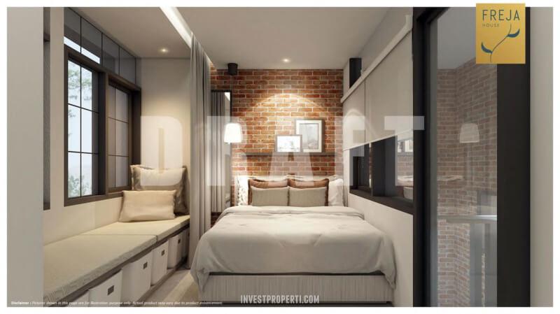 Interior Rumah Freja BSD - Master Bedroom