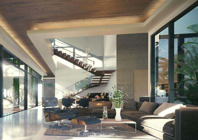 Rumah Pantai Bukit Villa PIK2 - Living Room