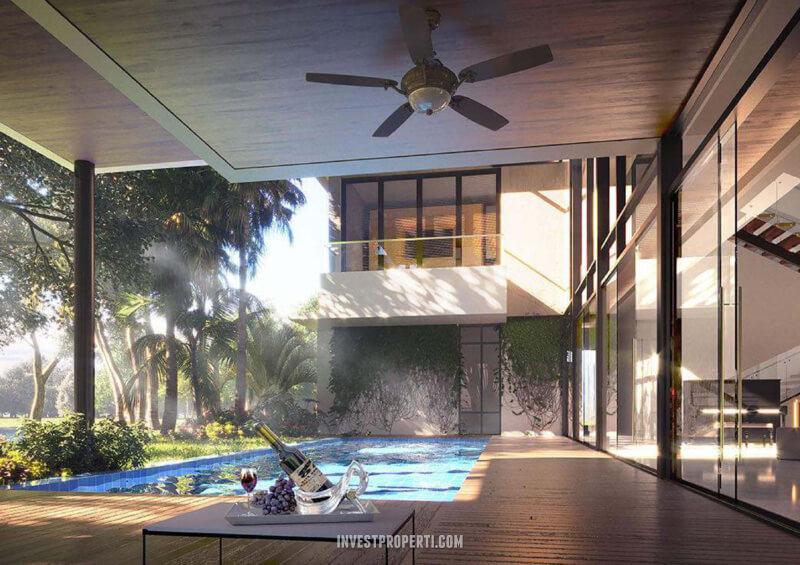 Rumah Pantai Bukit Villa PIK2 - Pool