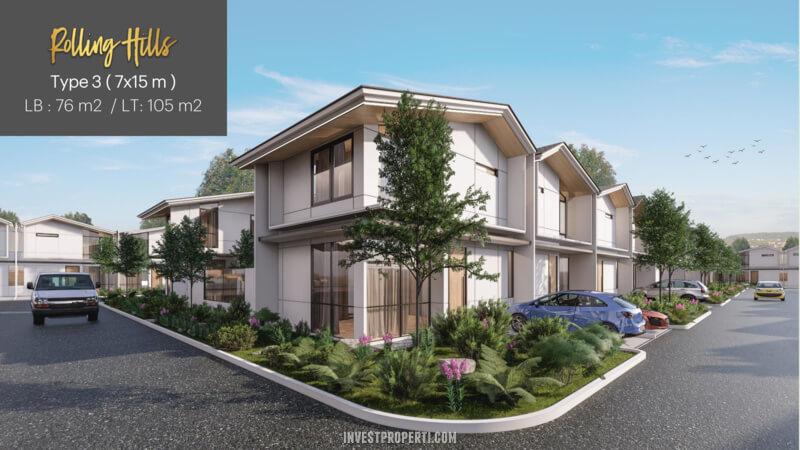Rumah Rolling Hills Karawang Tipe 3