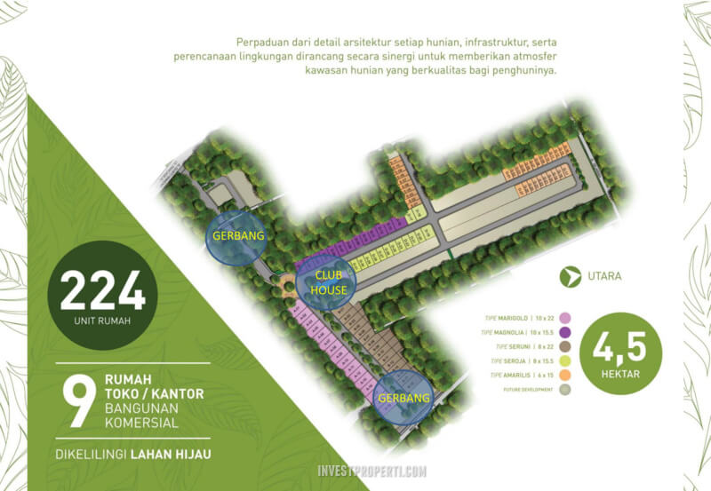 Siteplan Cluster Green Synthesis Pontianak