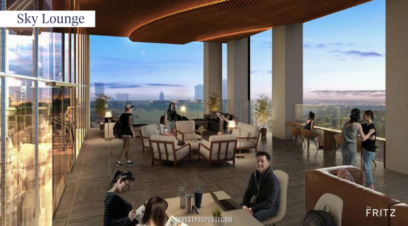 The Fritz Kingland Avenue Serpong - Sky Lounge