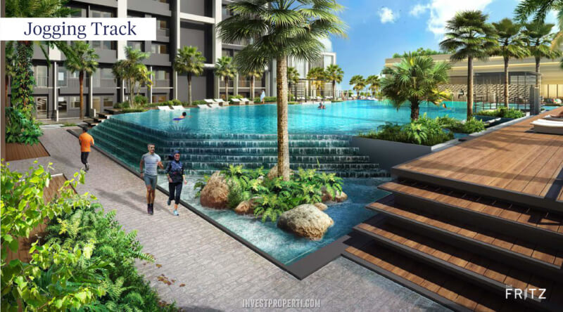 The Fritz Kingland Avenue Serpong - Jogging Track