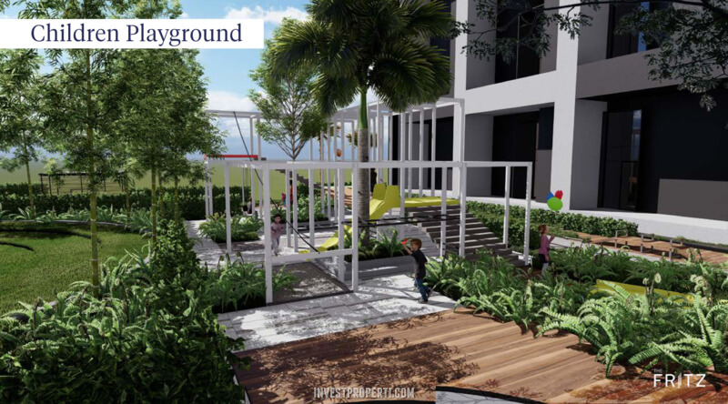 The Fritz Kingland Avenue Serpong - Playground