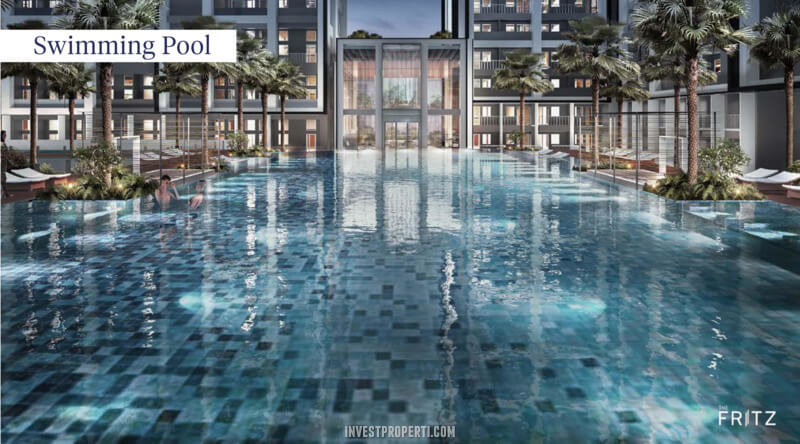 The Fritz Kingland Avenue Serpong - Swimming Pool