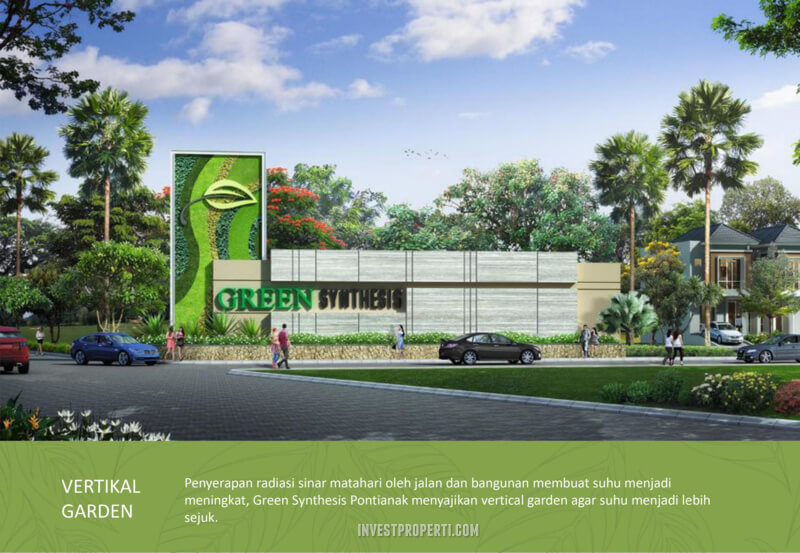 Vertical Garden Green Synthesis Pontianak
