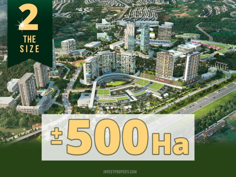 500 ha Land Summarecon Bogor