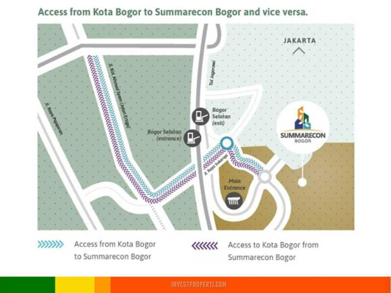 Akses Bogor ke Summarecon Bogor