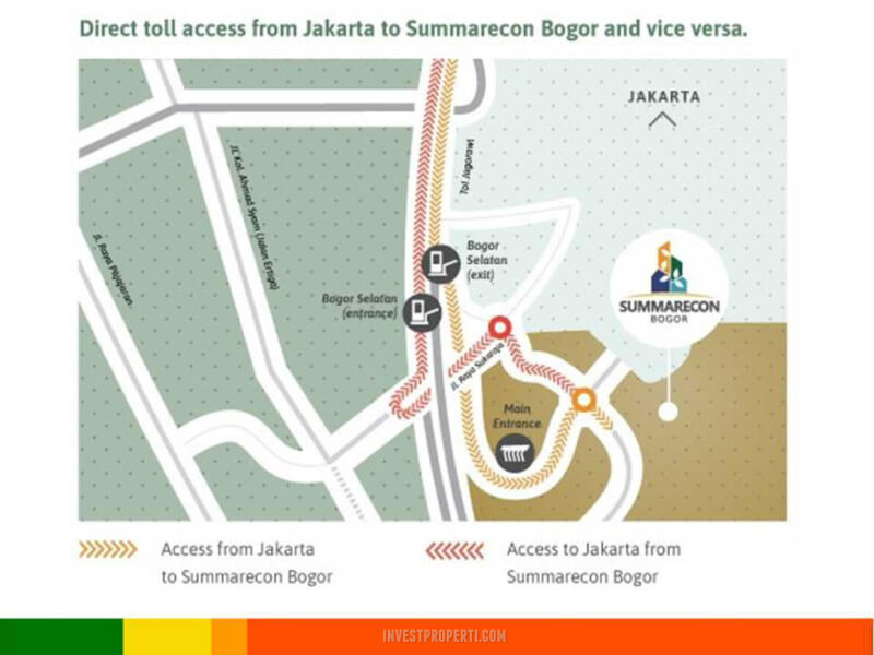 Akses Tol Jakarta Summarecon Bogor